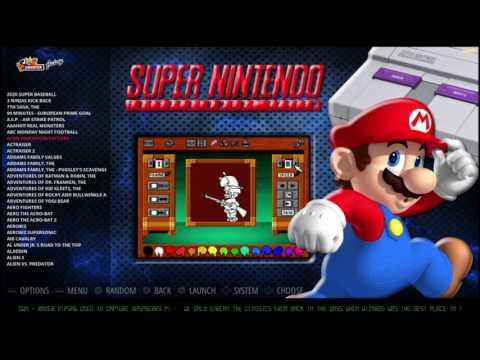 Retro Pie - Emulation Station themes