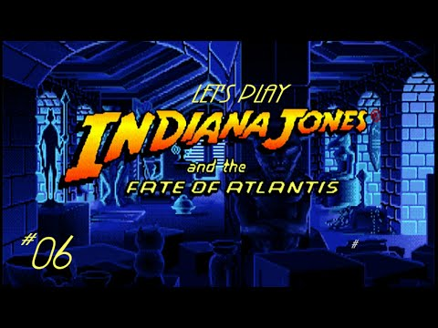 Let's Play Indiana Jones and the Fate of Atlantis - 06: We All Live in a Grey Submarine