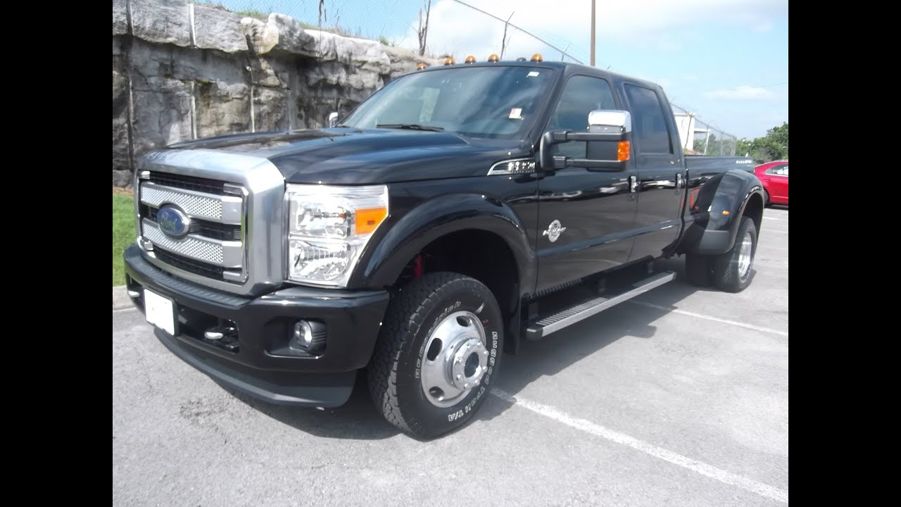 2013 ford f 350 platinum tuxedo black loaded up here at ford of murfreesboro 888 439 1265 youtube