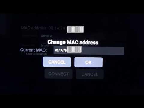 Change MAC address on BuzzTV XPL3000 BuzzBox