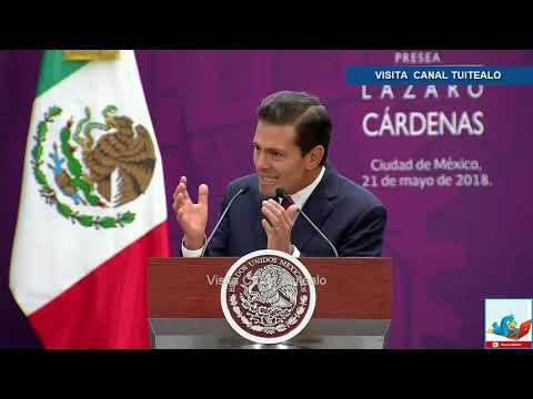 Peña nieto entrega la presea 'Lázaro Cárdenas' por el Día del Politécnico Video