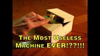 The Most Useless Machine EVER!??!!!(The most useless machine EVER, and yet every wants one?!!???. http://frivolousengineering.com/ Visit our website for free plans and other useless stuff! Follow ..., 2009-12-28T16:45:35.000Z)