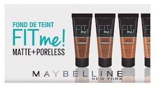 FIT ME! : le fond de teint maintenant disponible en 35 teintes ! | Maybelline New York FR thumbnail