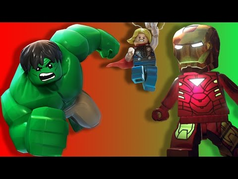 hulk ironman kaptan amerika thor  lego yenilmezler