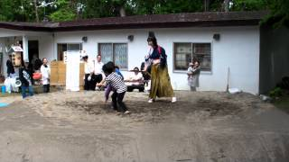 けいと保育所最後の相撲大会!