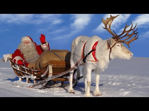 Best Santa Claus Reindeer Rides In Lapland Finland - Father Christmas In Rovaniemi At Arctic Circle