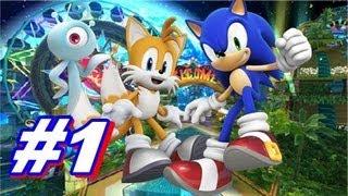 Let's Play Sonic Colors Wii Walkthrough - Part 1