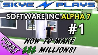 Software Inc Alpha 7 Part 1 ►How To Make Millions! [Hardest Settings]◀ Let's Play/Gameplay