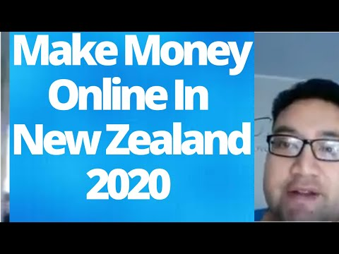 Make Money Online In New Zealand