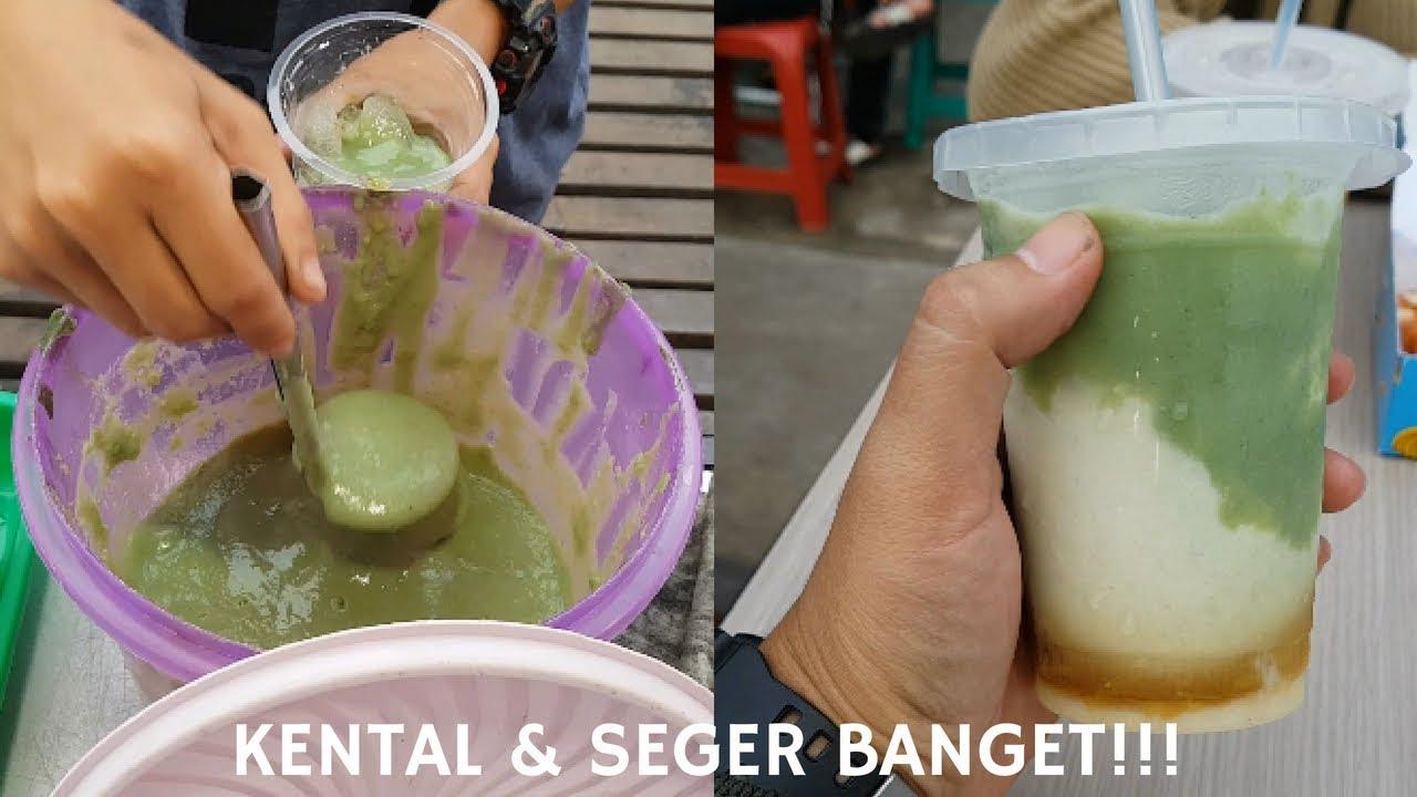 KENTAL & SEGER BANGET!!! SARI KACANG MR.BEANS SUDAH MELEGENDA  PONTIANAK  STREET FOOD
