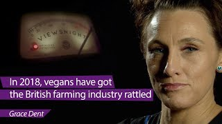 'Vegans have got the British farming industry rattled': Grace Dent - Viewsnight