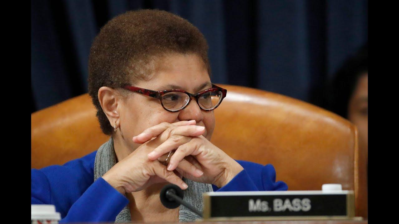 'Building bridges': How Karen Bass became a leading VP contender ...