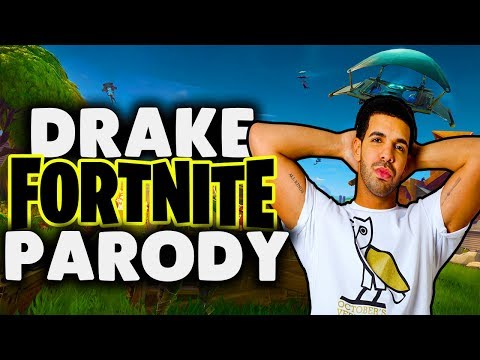 Drake  Gods Plan Fortnite Battle Royale Parody