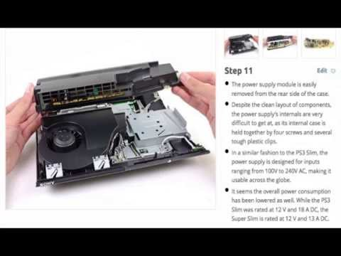 How to open PS3 SUPER SLIM-GUIDE