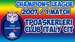 fvpa champions league 1 match 2016 tpoaskerleri vs club italy cit