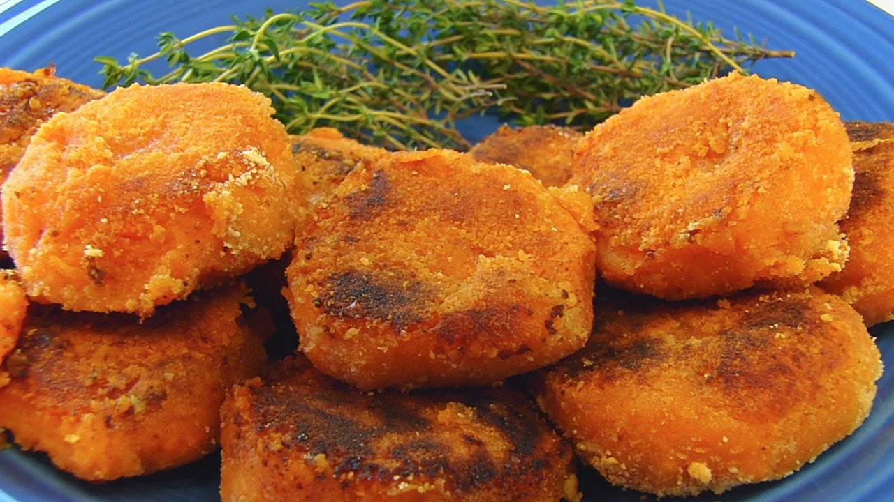 How to Make Sweet Potato Patties
