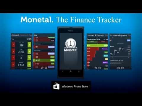 Monetal. The Finance Tracker