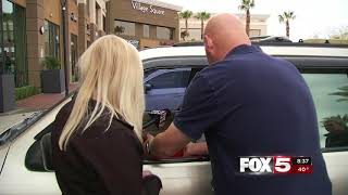 FOX5 Surprise Squad: Hardworking Wife Surprised After Call to Radio Station!