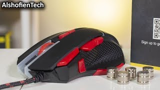 Mouse Ini Bisa Di Atur Beratnya - EasySMX V18