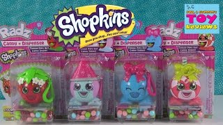 Baixar Shopkins Radz Candy Dispensers | Snow Crush Strawberry Kiss Bubbles | PSToyReviews