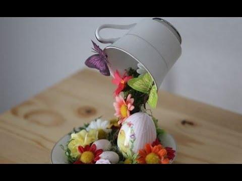Build A Floating Tea Cup Centerpiece Alice In Wonderland Diy Youtube