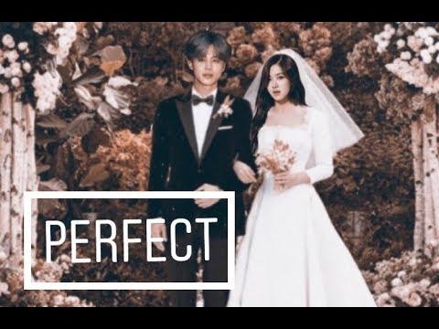 🕊Jirose🕊 Rose (blackpink) & Jimin (bts) • wedding day • [fmv]