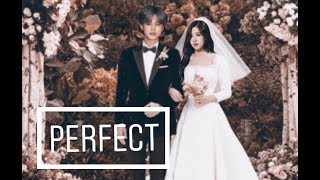 Jirose Rose blackpink Jimin bts wedding day fmv