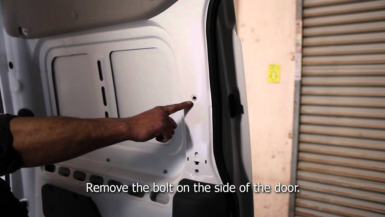 Kargo Master 2013 Transit Connect Shelf Installation Youtube