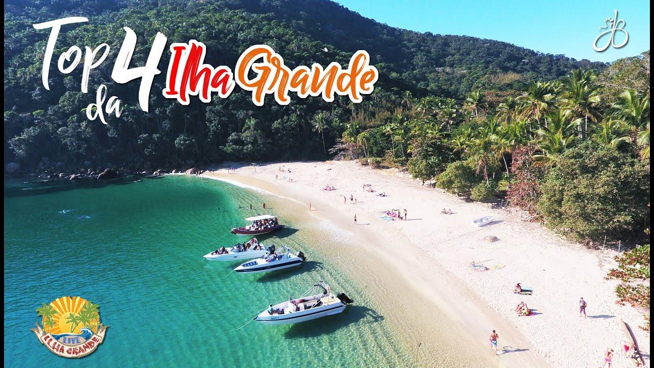 Praias Paradisíacas Da Ilha Grande As 4 Melhores Youtube