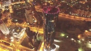 52 поверху і 3820 лампочок. Тестовий запуск медиафасада вежі