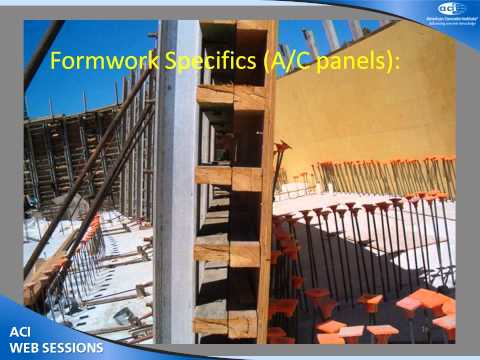 Formwork Considerations and Cautions at the Job Site