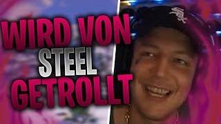 MONTE wird von STEEL getrollt | DERNICO verteilt 3 One Shots | Fortnite Highlights Deutsch