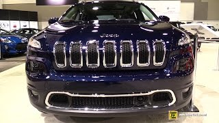2015 Jeep Cherokee Limited 4x4 - Exterior and Interior Walkaround - 2015 Ottawa Gatineau Auto Show