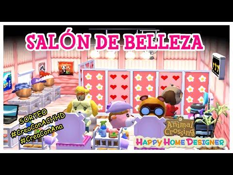 Un salón de belleza - SORTEO AC Happy Home Designer
