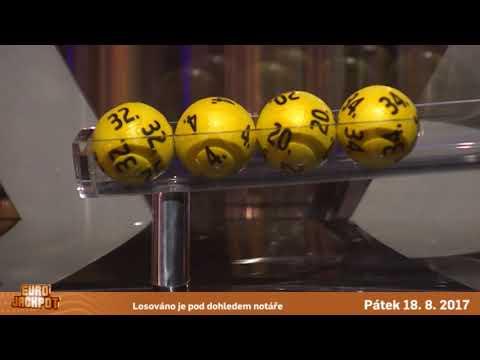 Eurojackpot - 18.8. 2017