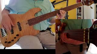 "Paul Young - ""Everytime you go away"" Sire Marcus Miller V10 5 Fretless Natural bass cover"