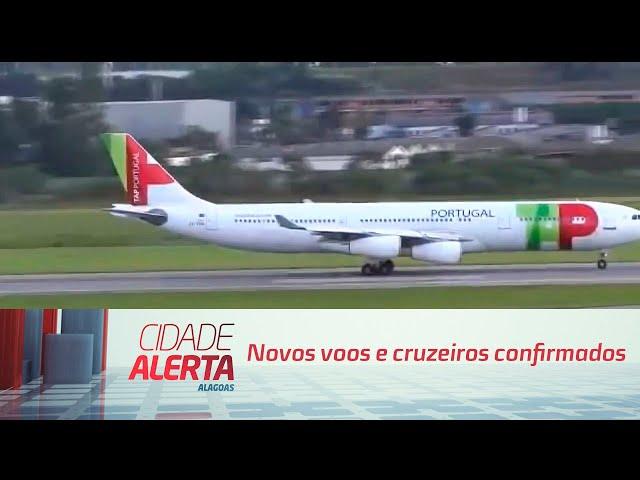 Esperança para o turismo: Novos voos e cruzeiros confirmados