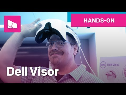 Dell Visor hands-on: Windows Mixed Reality headset