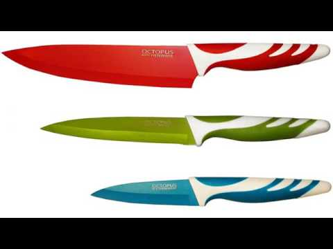 must see review! vremi 10 piece colorful knife set - 5 kitchen