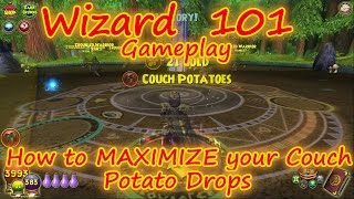 Wizard101: How to Maximize Your Couch Potato Drop Rate - Gardening and Farming