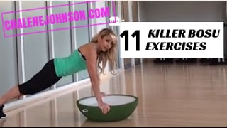 11 BoSu Exercises for Cardio and HIIT Training Home Workout