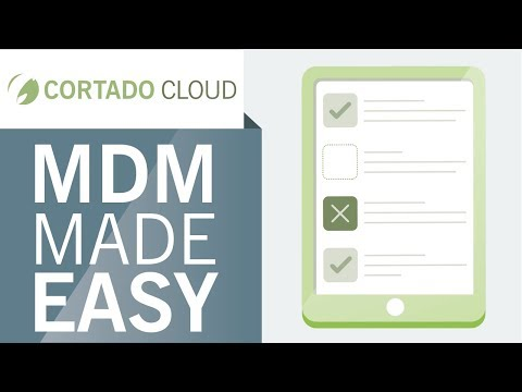 MDM made easy with Cortado MDM