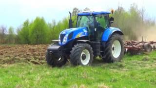 Maj w Polu 2016 ;) Orka/talerzowanie/New Holland T6050/T7.185/JohnDeere6155R/Kverneland Pomorskie