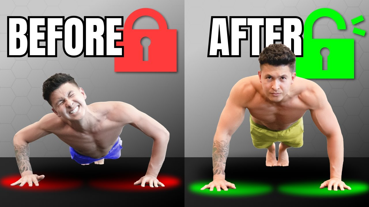 How To Unlock Your Push Up Strength (In 5 Minutes)