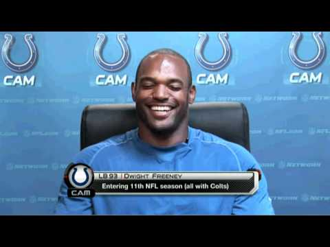 Colts assign a new role to Dwight Freeney