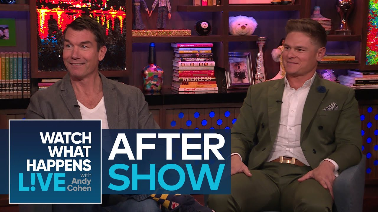 After Show: Rebecca Romijn Stills Loves Joao Franco