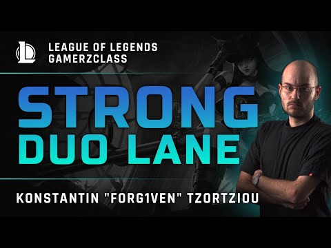 LoL · FORG1VEN | Picking a strong duo lane