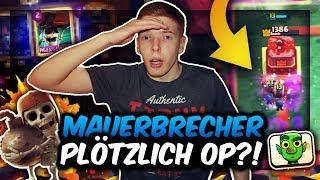 MAUERBRECHER PLÖTZLICH OP?! | Dieses Deck zerstört ALLES! | Clash Royale Deutsch
