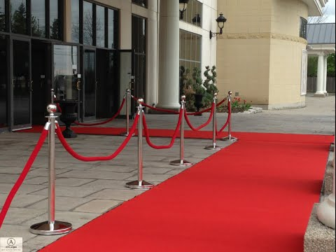 Red Carpet Staging & Stanchions Rental Toronto and the GTA