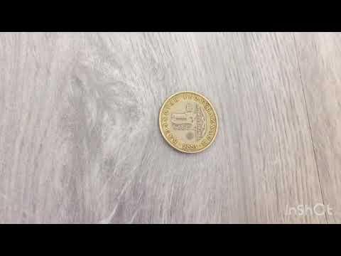 Юбилейная монета 100 тенге « десять лет национальной валюте тенге Казахстана»